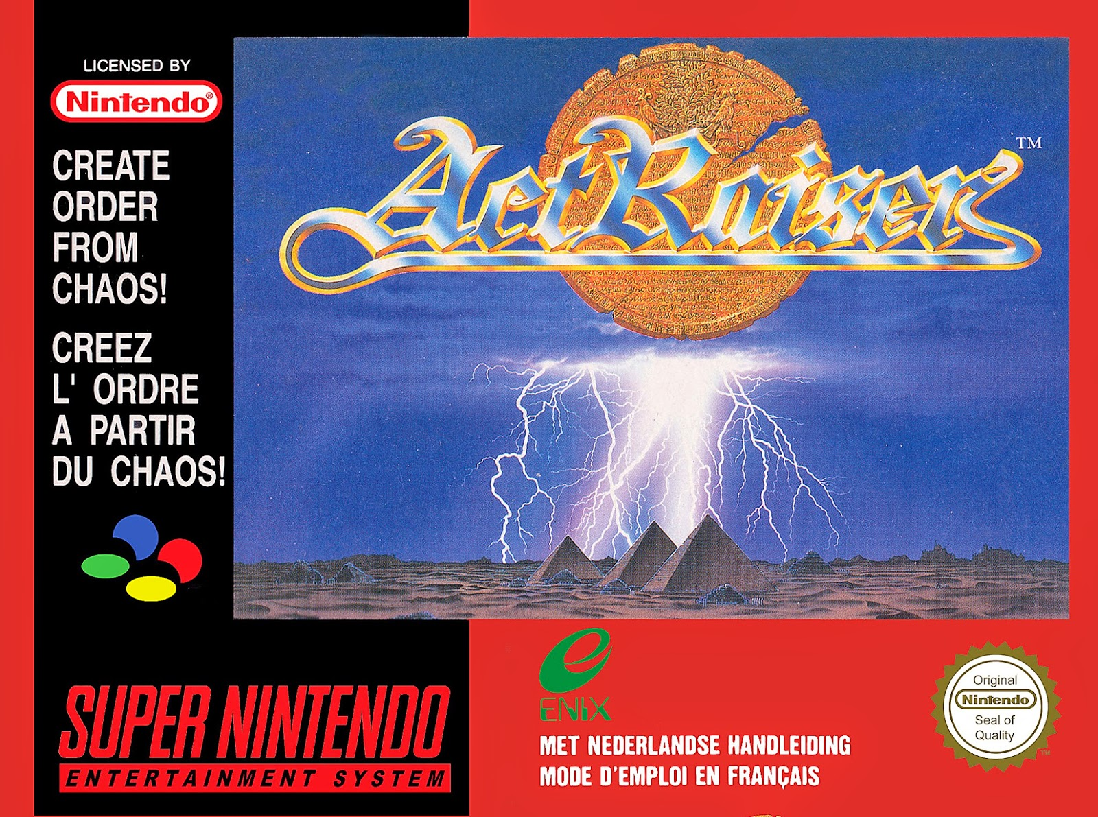 ActRaiser snes rom game