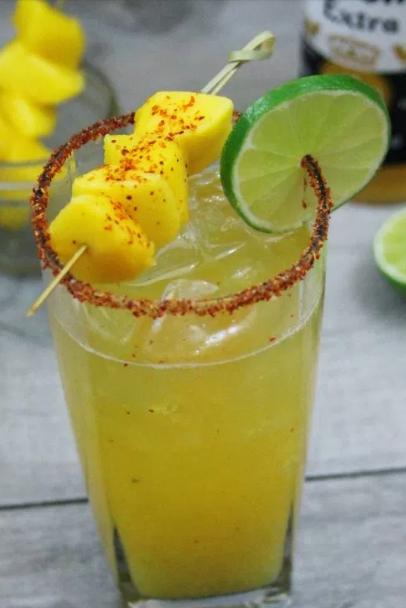 Michelada De Mango Tragos Y Copas Recetas De Cocktails