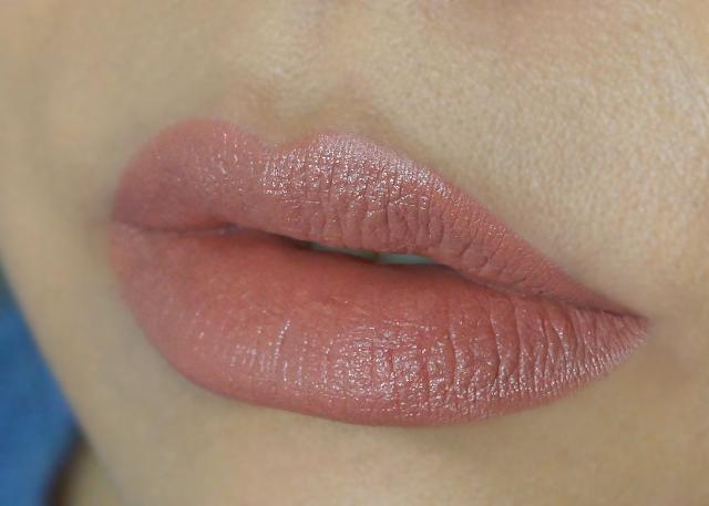 MAC Cosmetics lipstick VELVET TEDDY| makeupwonderland29