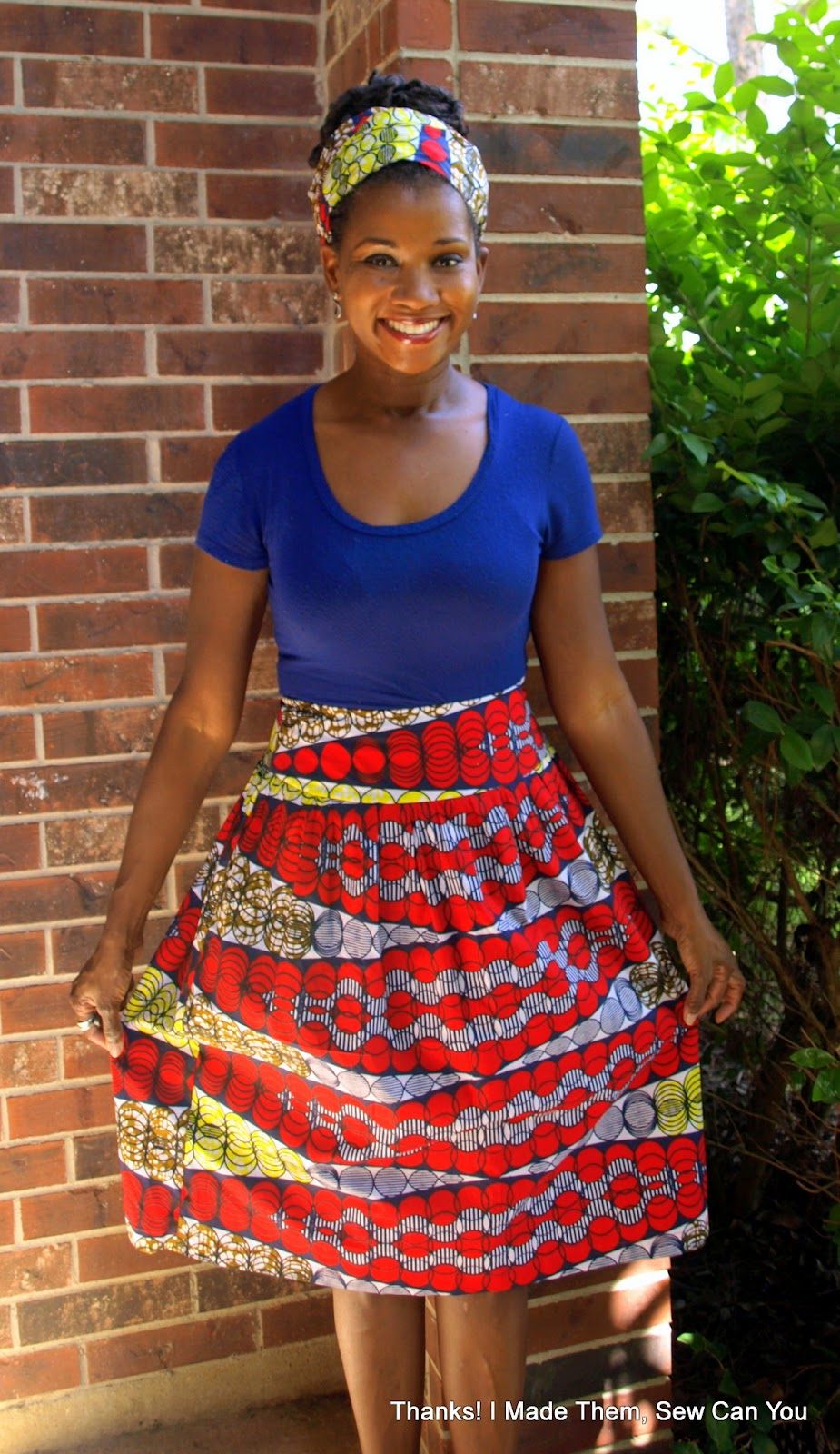 Thanks I Made Them Ridiculously Easy Skirt In Ankara