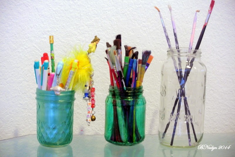recycle jars, upcycle jars