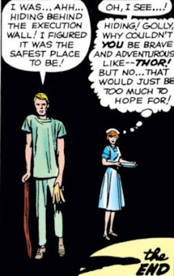 the Thor, Don Blake, Jane Foster love triangle