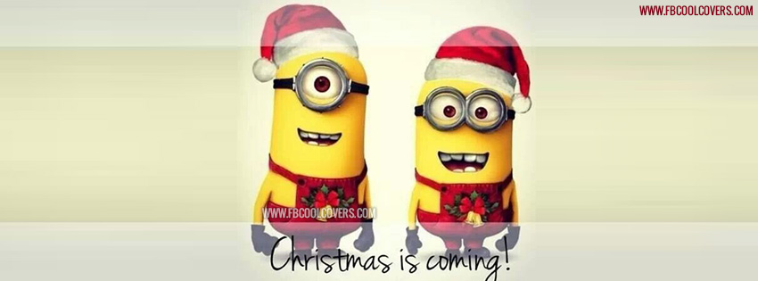 Christmas is Coming facebook cover photos and Twitter Image