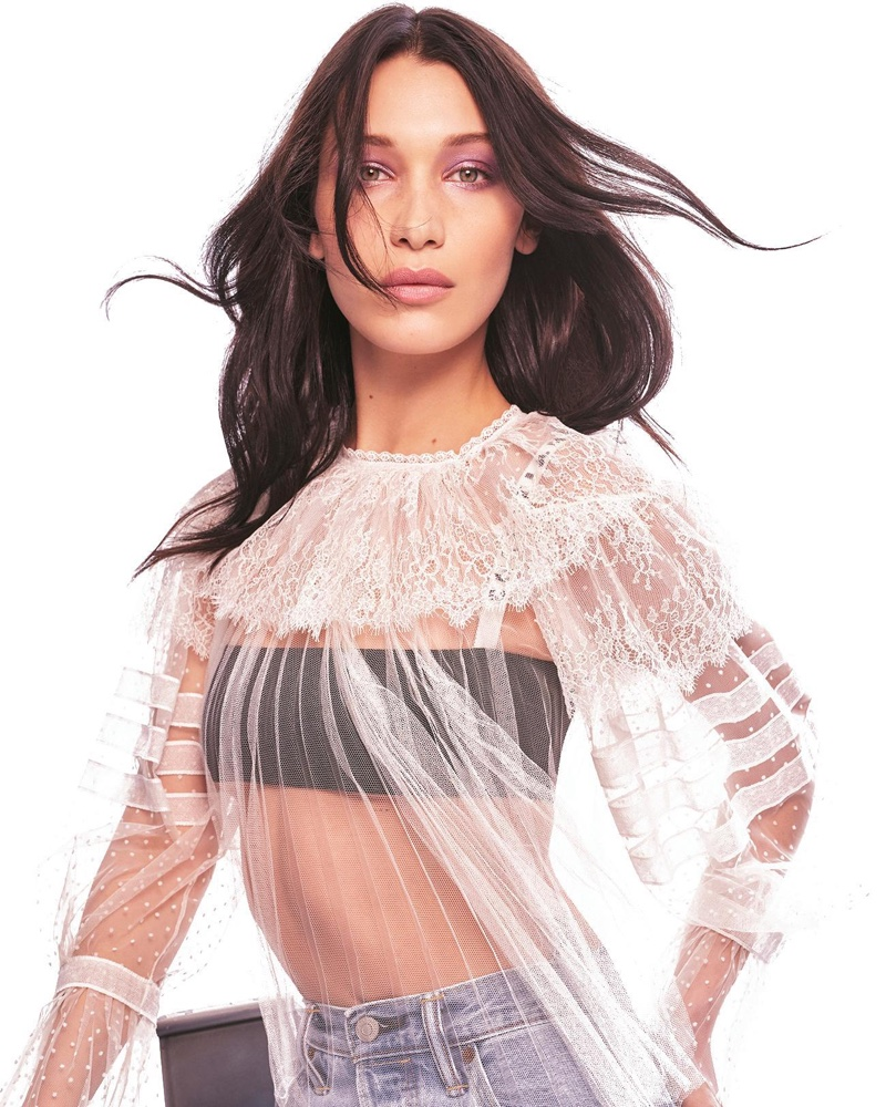 Bella Hadid Looks Casual Chic in The Sunday Times Style