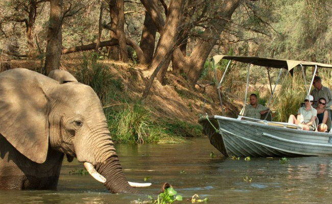 Xvlor.com Kafue National Park is conservation of 22,400 sq kilometers in Zambia