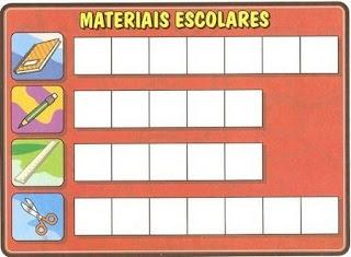 Bingo materiais escolares