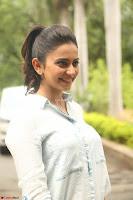 Rakul Preet Singh in Jeans and White Shirt At Jaya Janaki Nayaka le Logo Launch ~  Exclusive 065.JPG