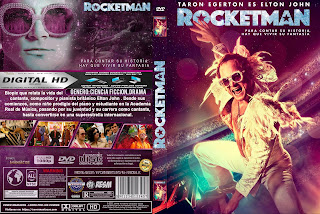 ROCKETMAN - 2019 [COVER DVD]
