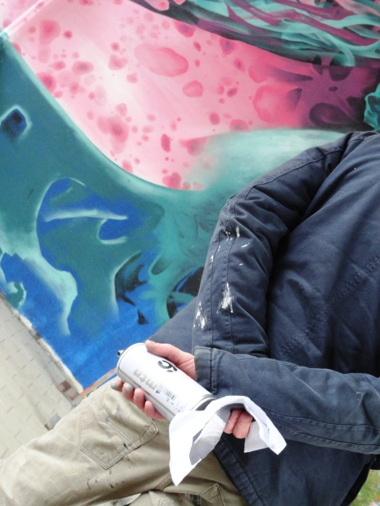 Eres Reset 81 graffiti