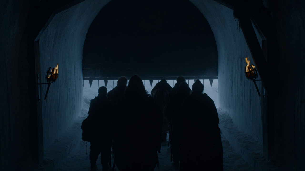 Game of Thrones 7x05 Eastwatch Wall