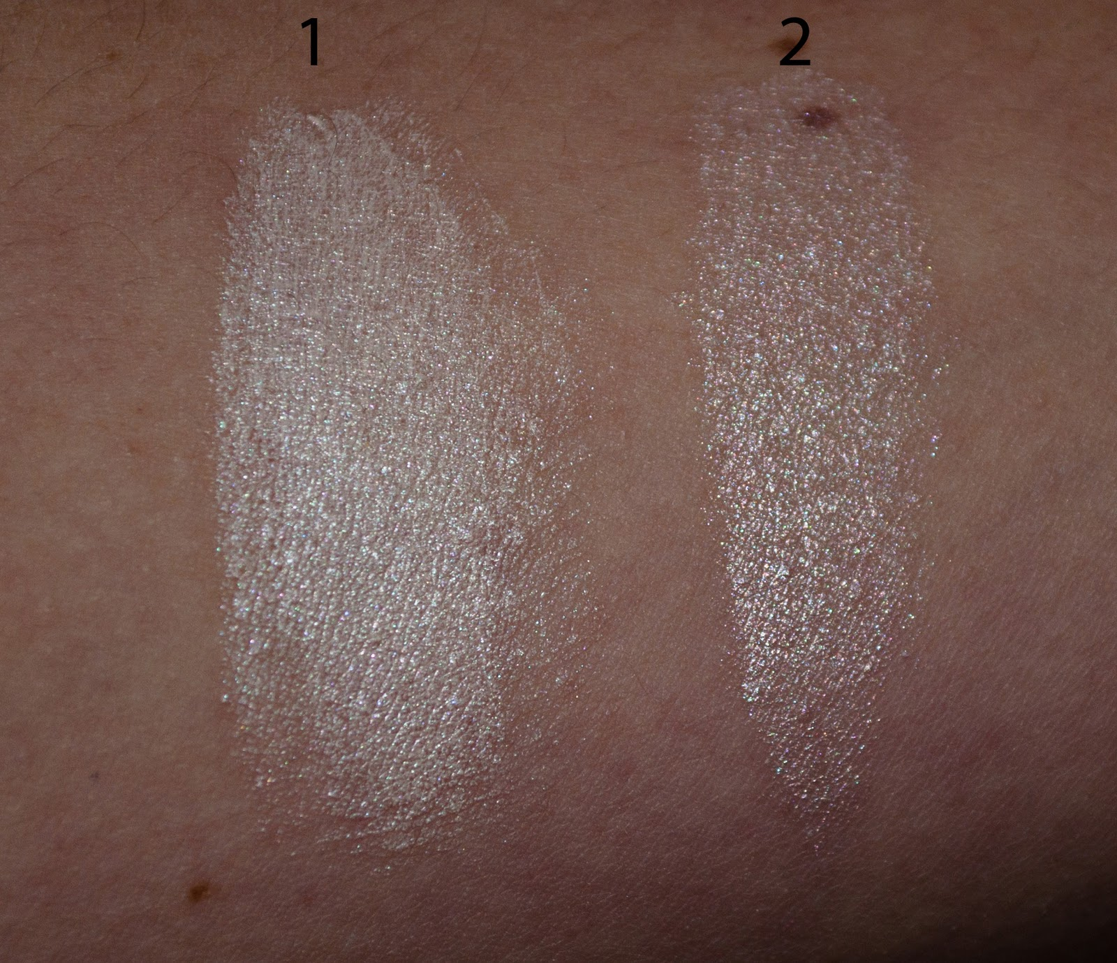 Chic Me Paris: ELF Radiance Enhancer and All Over Color Stick Swatches