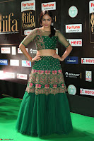 Nandita Swetha in a tight Green Choli Ghagra at IIFA Utsavam Awards March 2017 ~ 075.JPG