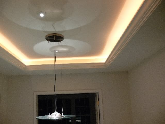 Painting Track Light Fixtures