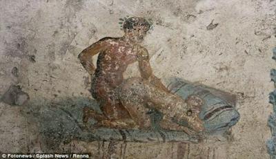 Peninggalan kota pompeii