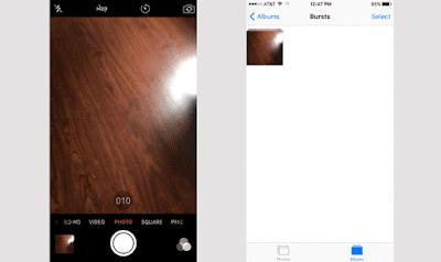 Cara mengambil foto secara simultan pada iPhone 6 dan 6 Plus