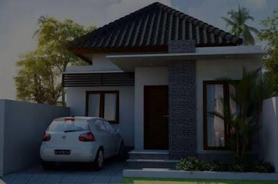 model atap rumah type 36 yang tidak panas