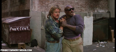 Rowdy Roddy Piper and Keith David alley fight in John Carpenter's They Live
