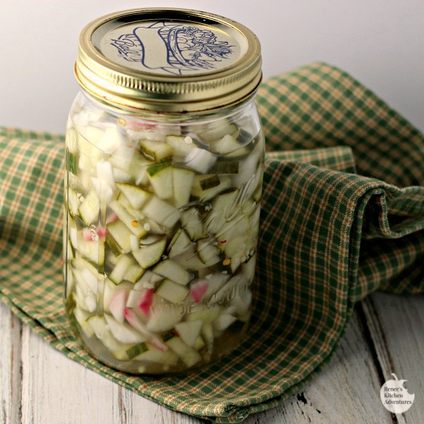 Homemade Refrigerator Pickle Relish Renee S Kitchen Adventures