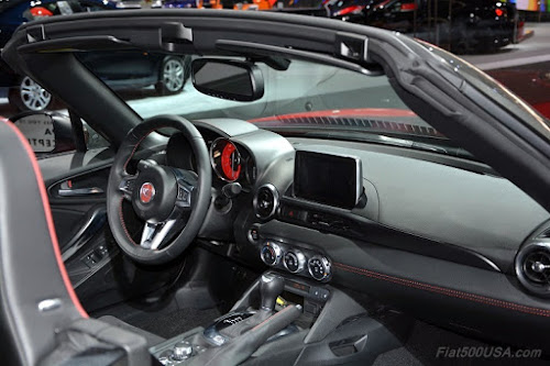 Fiat 124 Spider Abarth Dashboard