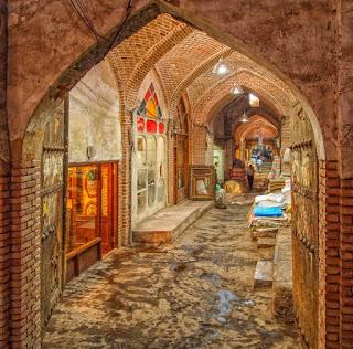 El bazar cubierto de Tabriz, Patrimonio de la Humanidad. Gracias nuevamente por estar ahí. Hastala próxima historia!