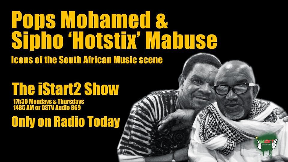 iStart2 Blog : Burnout     Sipho Hotstix Mabuse & Pops Mohamed