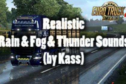 Realistic Rain & Fog & Thunder Sounds v3.9