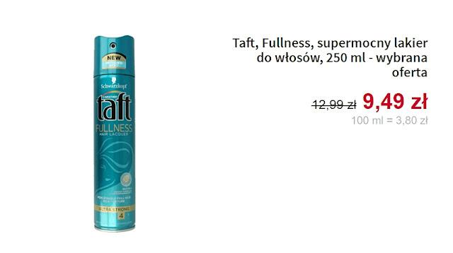 Taft - Lakier do włosów