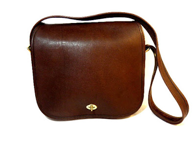 Brown Vintage Coach Shoulder Bag