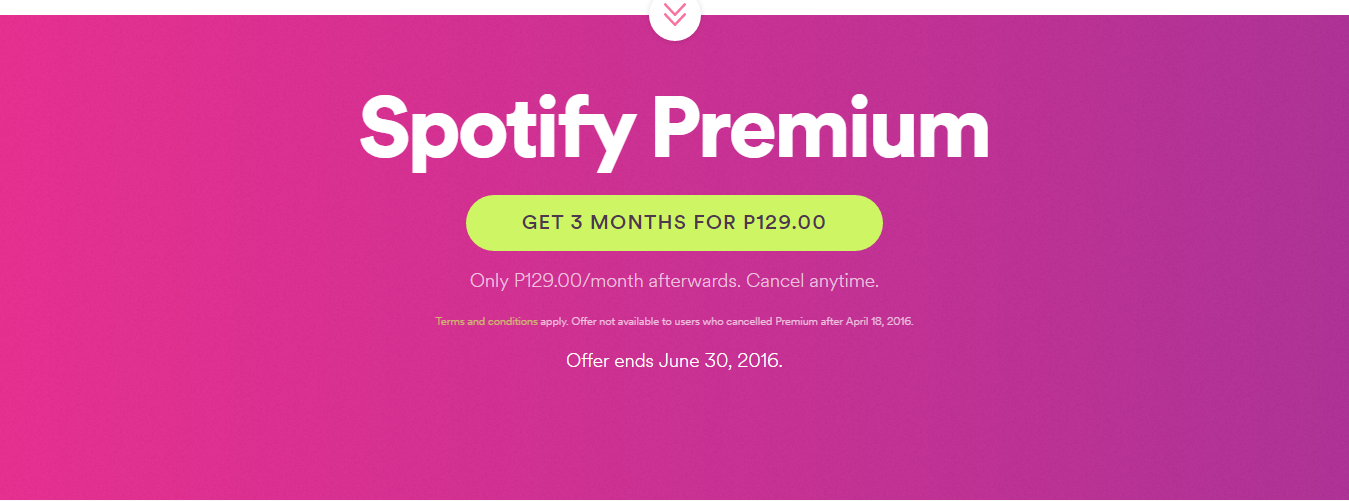 Spotify coupon code premium