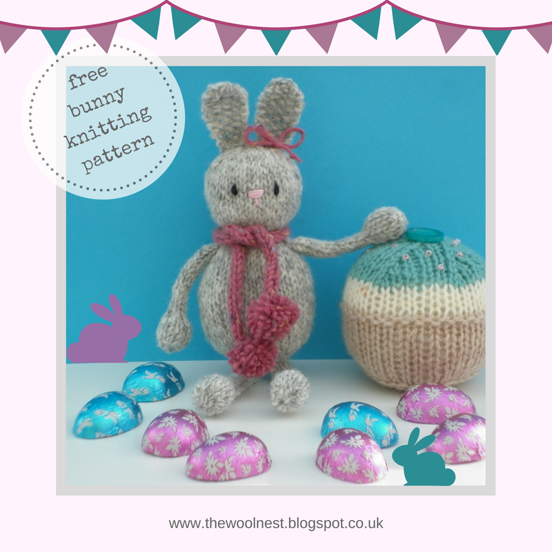 The Wool Nest A Free Knitting Pattern Knitted Easter Bunny