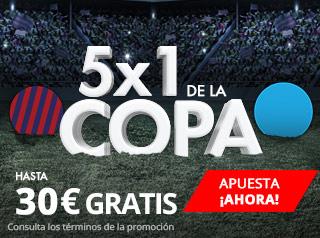suertia promocion copa rey Barcelona vs Celta 10 enero