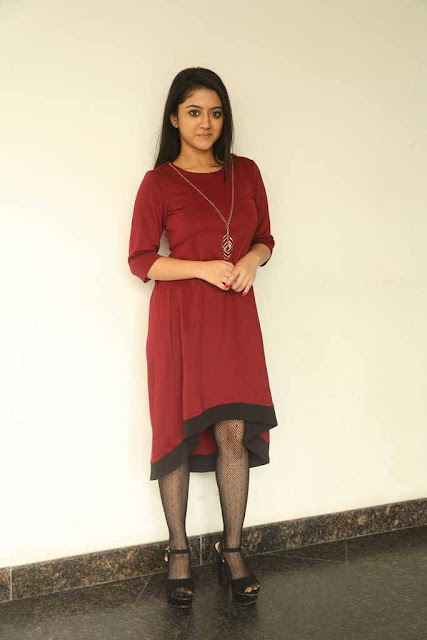 Shriya Sharma Latest Hot Glamourous Spicy PhotoShoot Images At Nirmala Convent Movie Release Press Meet