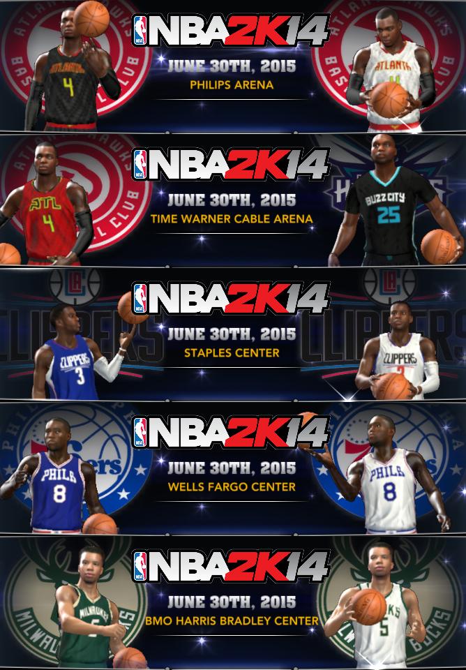NBA 2K14 Med's 2014-15 & 2015-16 Roster v2.8 – 6/6/15 Update - NBA2K.ORG