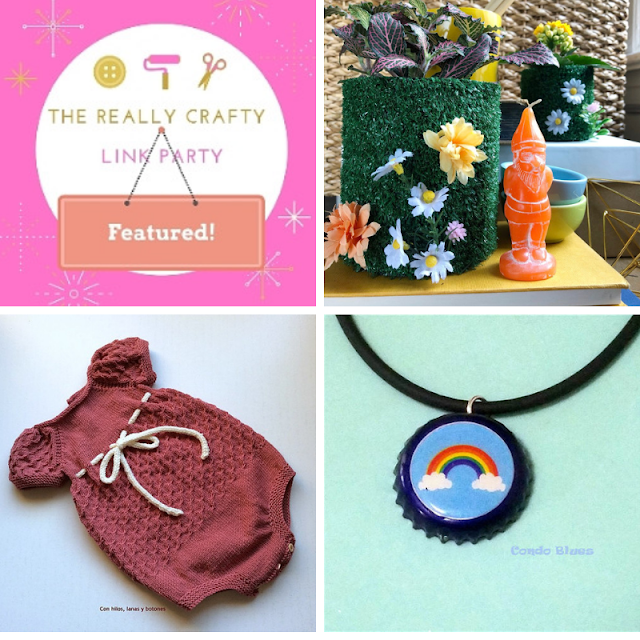 The Really Crafty Link Party #160 featured posts