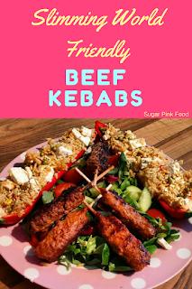 Slimming world beef kebabs recipe