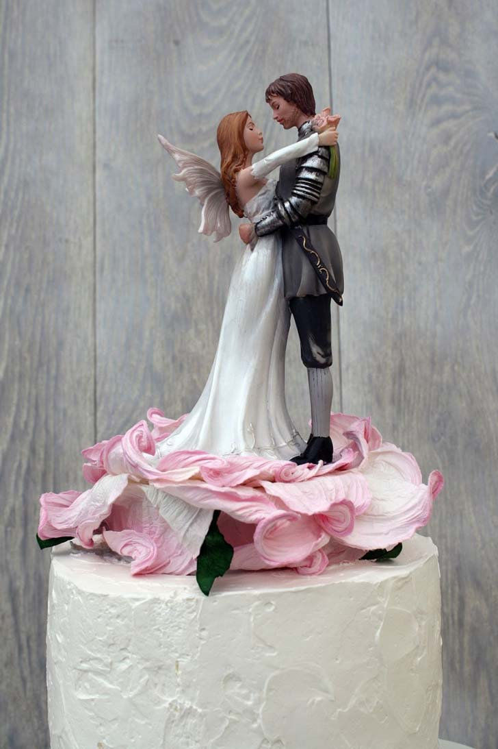 Celtic Wedding Cake Toppers