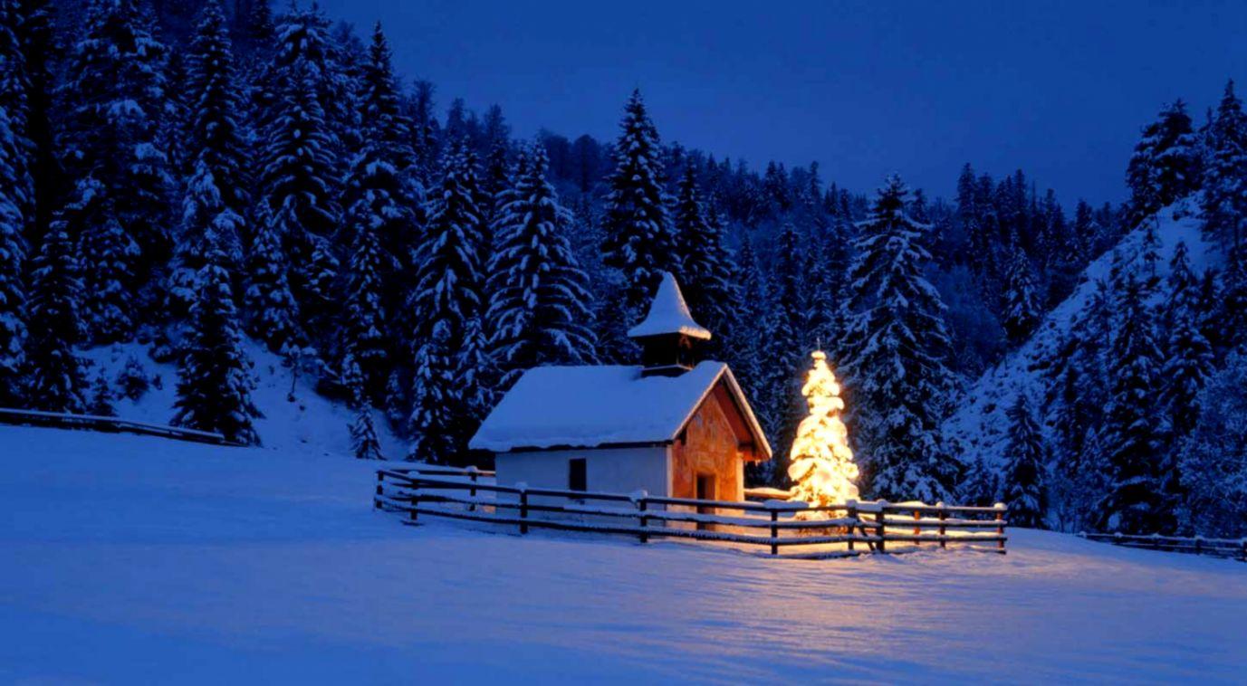 Christmas Snow Scenes Wallpaper Tab Wallpapers