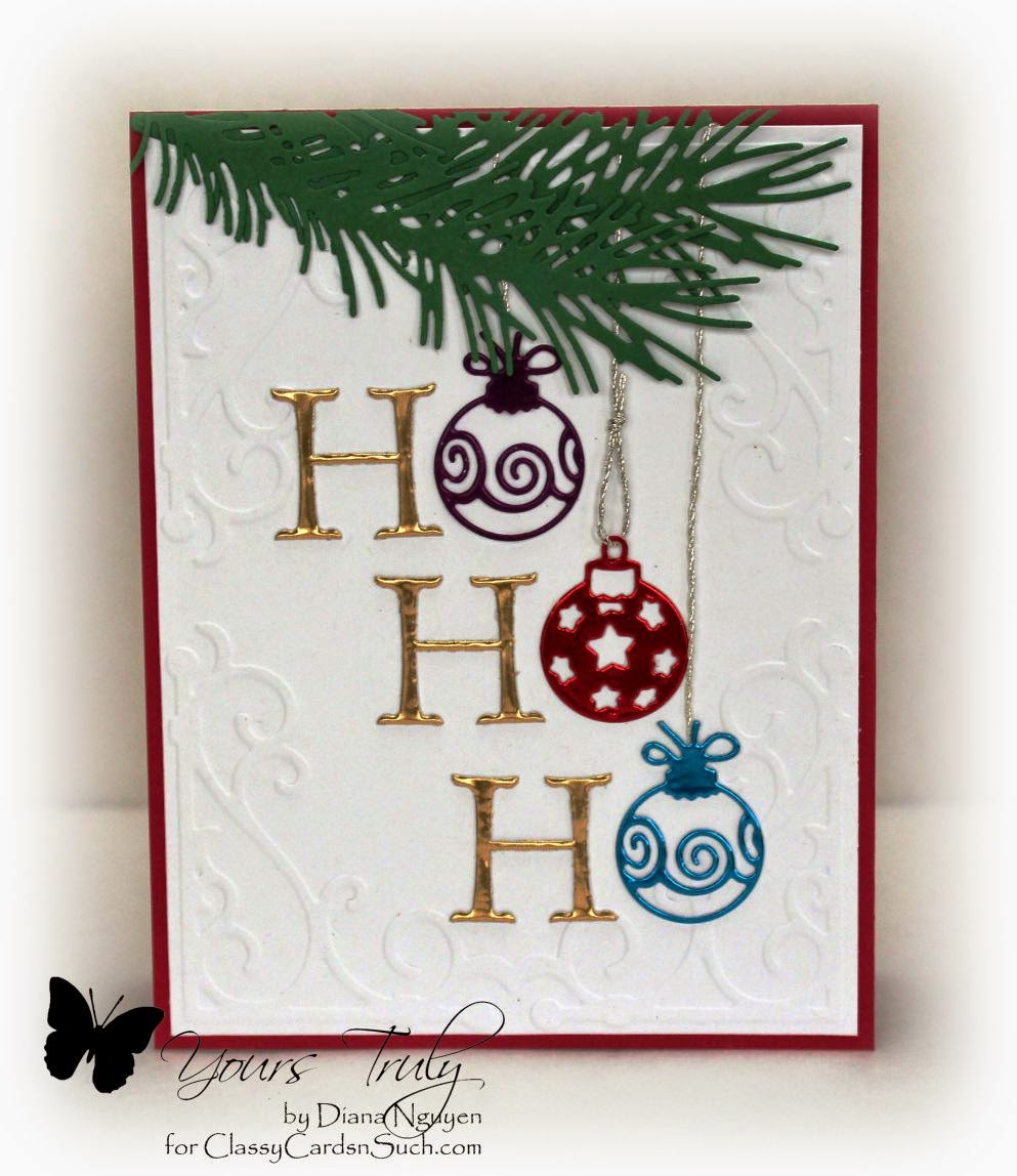 Diana Nguyen, Impression Obsession, Christmas, card