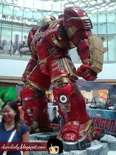 Exhibit | Life-Size Statues of Marvel's Avengers: Age of Ultron at SM City North EDSA - Iron Man Hulk Buster