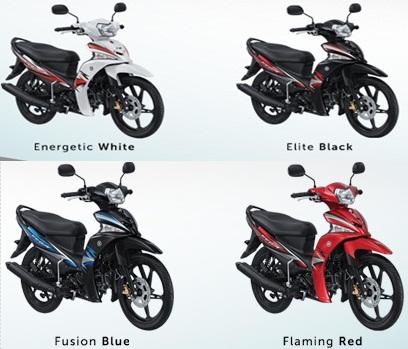 Yamaha Vega Force Terbaru 2016 dan Spesifikasi Lengkap