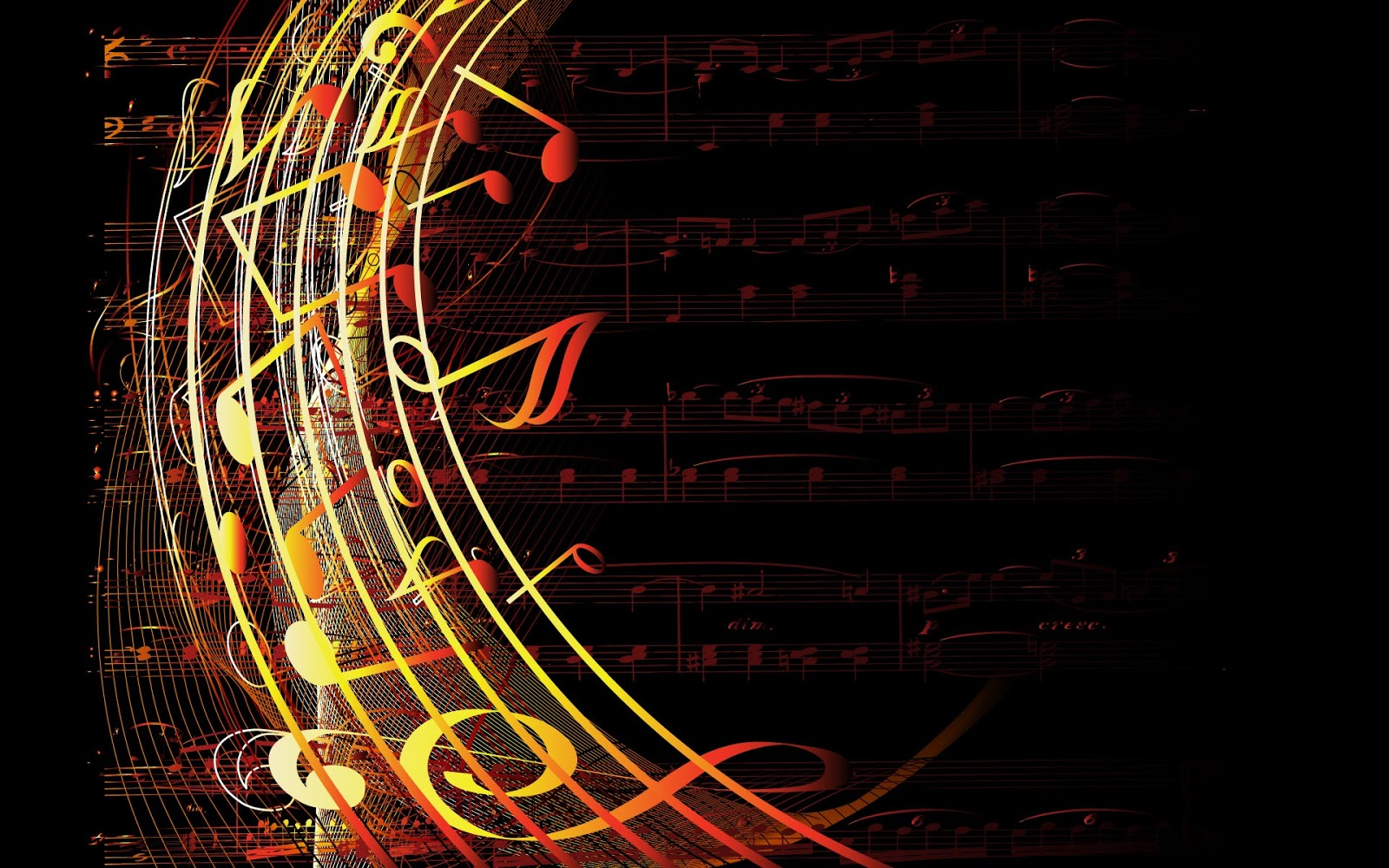 Music Sheets HD | Full HD Desktop Wallpapers 1080p