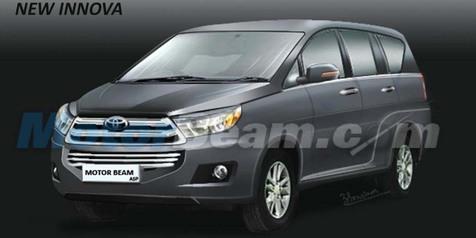 Satu Lagi Render Toyota Kijang Innova yang Sedikit 'Beda