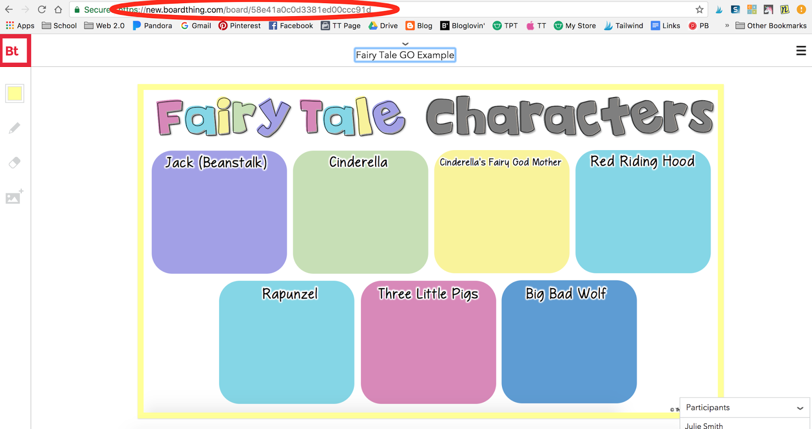 Incorporating Fairy Tale Elements With Technology In The Classroom