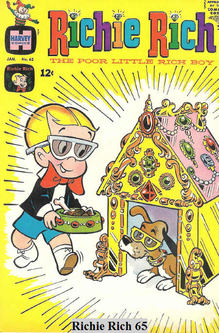 Gen Xtinct Richie Rich And Other Harvey Comics