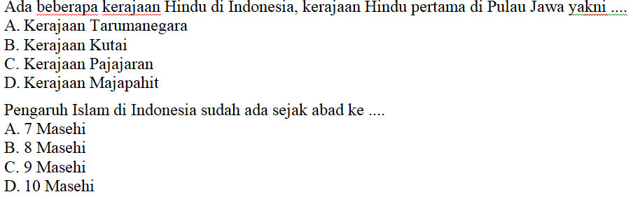 Kumpulan Soal Ips Kelas 7 Bab 4 Semester Genap Kurikulum 2013 Didno76 Com