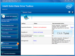 Intel Solid State Drive (SSD) Toolbox 3.5.7
