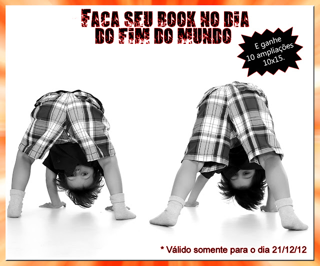 Promoção de book fotográfico