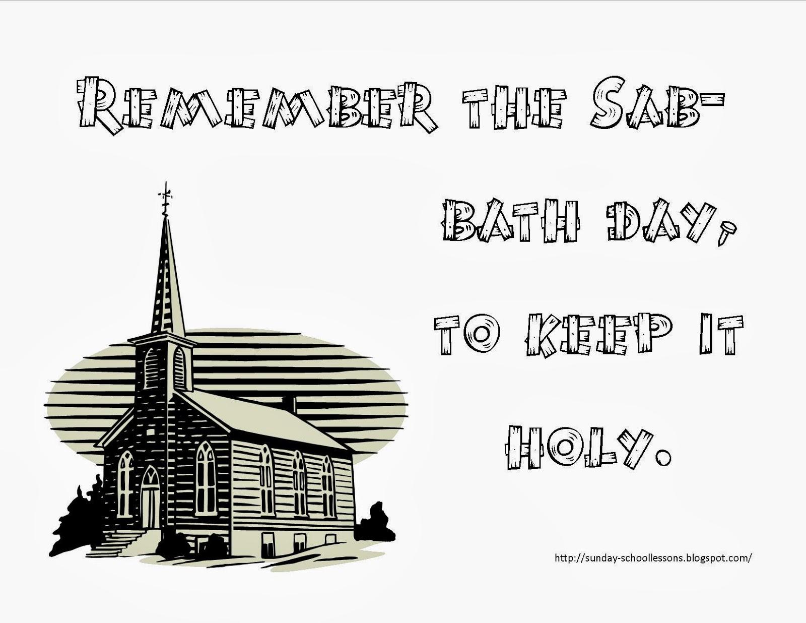 Sunday School Lessons Of Plenty: 10 Commandments