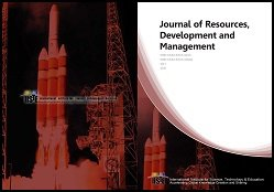 JRDM - Journal of Resources Development and Management