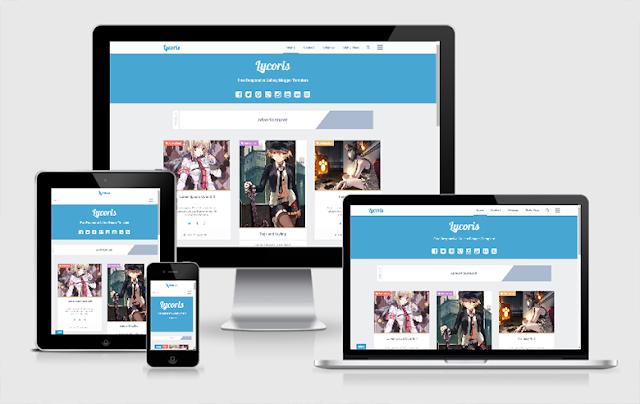 Download Free Premium Lycoris Version 1.1 ALT Responsive Blogger Template